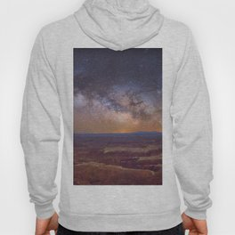 Nightscape Arches National Park Panorama Utah Hoody