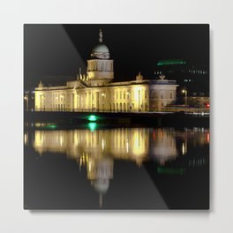 Reflections V - Custom House Metal Print