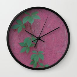 Color clash Wall Clock