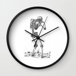 Vintage - Sobbing Skeleton Wall Clock