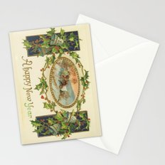 A Happy Vintage New Year Stationery Cards