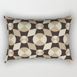 Luxury Diamonds And Circles Decorative Home Decor Design Rectangular Pillow