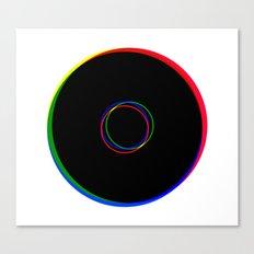RGB Ringing Canvas Print