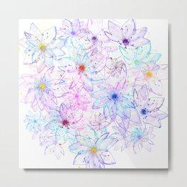 Flower carpet(64) Metal Print