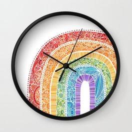 The Rainbow Wall Clock