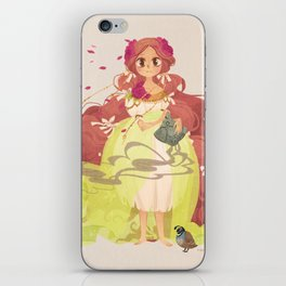 Tamaura of the Forest iPhone Skin