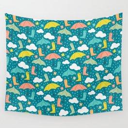 Rainy Day Wall Tapestry