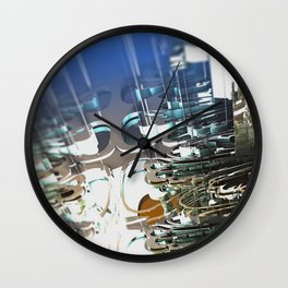 Clock Temple of technology Wall Clock