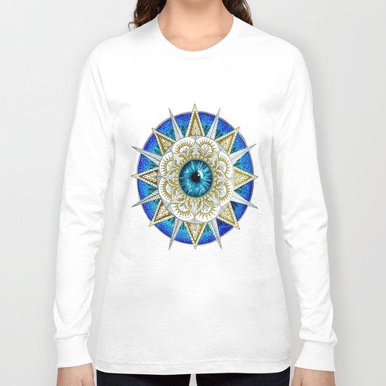 Eye Mandala Long Sleeve T-shirt