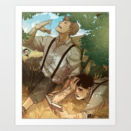 Fantastic Beasts - On the lookout Art Print