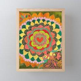 Feral Heart #01 Framed Mini Art Print