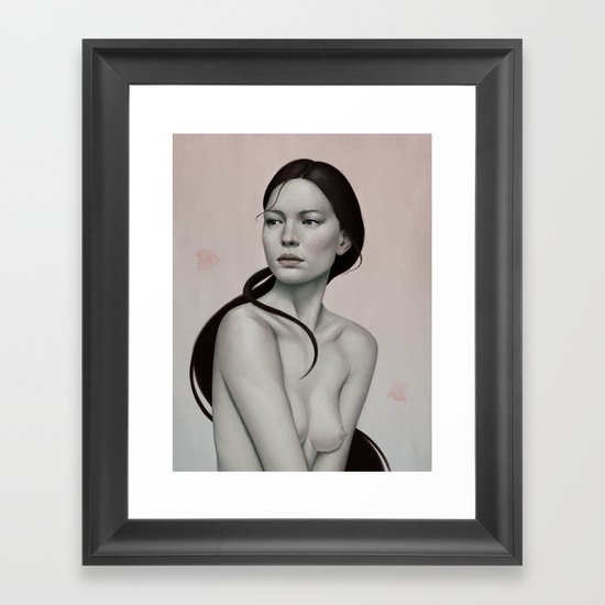 254 Framed Art Print