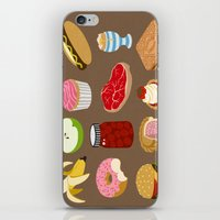 food iPhone & iPod Skins featuring Food by John Holcroft