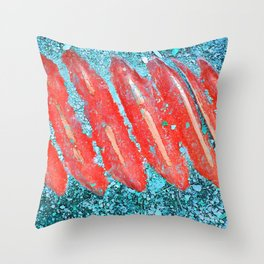 Not Nail Polish Throw Pillow