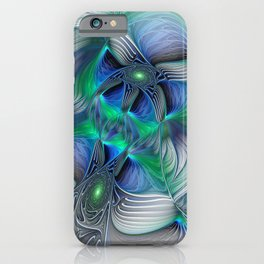 Fantasy Place, Abstract Fractal Art iPhone Case