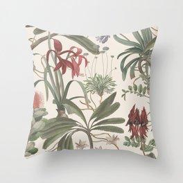 Botanical Stravaganza Throw Pillow