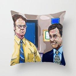 Downsizing Throw Pillow
