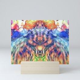 Rainbow Mane Mini Art Print