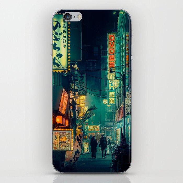 Tokyo Nights / Memories of Green / Blade Runner Vibes / Cyberpunk / Liam Wong iPhone Skin