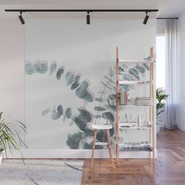 Eucalyptus Shadows II Wall Mural