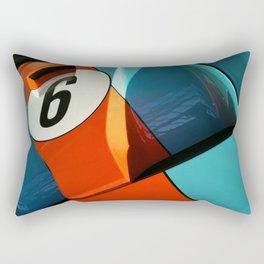 Car Numero 6 Rectangular Pillow