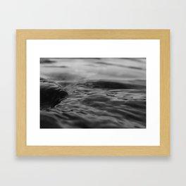 River Currents Framed Art Print