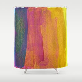 Abstract No. 382 Shower Curtain