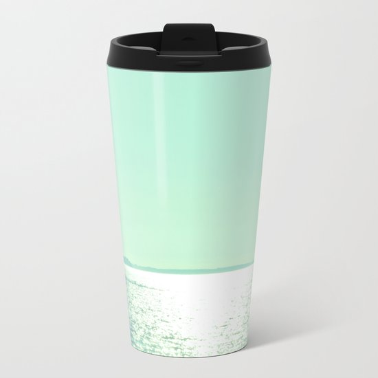 Summer Shine Metal Travel Mug