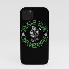 Green DCP Logo iPhone Case