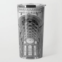 York Minster Art Sketch Travel Mug