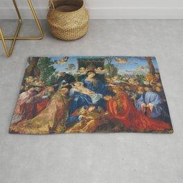 Albrecht Durer's Feast of the Rosary Rug