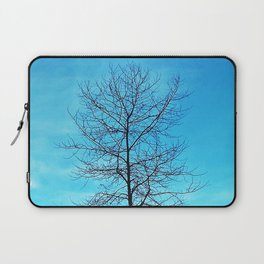 Lone Tree in Winter Laptop Sleeve