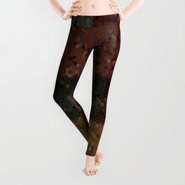 Loony Linoleum Leggings