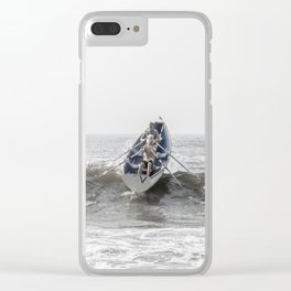 Over The Wave Clear iPhone Case