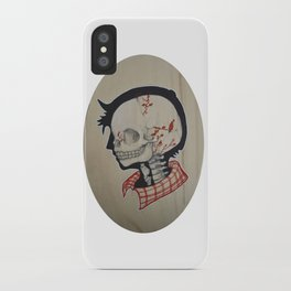 Boy Next Door - Silhouette and Anatomy Love Painting iPhone Case