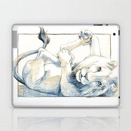 Playful Lion Laptop & iPad Skin