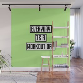 Workout Day fitness T-Shirt for all Ages Dx41w Wall Mural