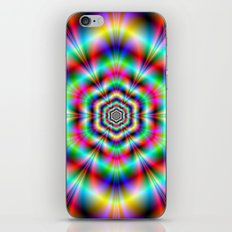 Psychedelic Hexagon Rings iPhone & iPod Skin