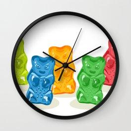 Gummy Bears Gang Wall Clock