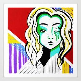 Silenced Girls (part 1/3) Art Print