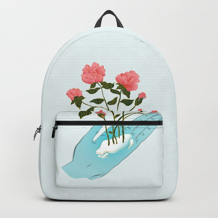 Roses n' Hand Backpack