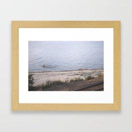 carkeek. Framed Art Print