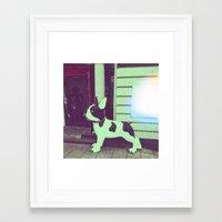 puppy Framed Art Prints featuring Puppy by Karolis Butenas