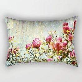 OPPOSITE LOVE - Rusted Magnolia Tree - (decrepit beauty) Rectangular Pillow