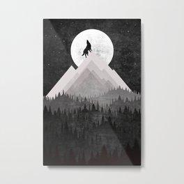 Classic Landscape Metal Print