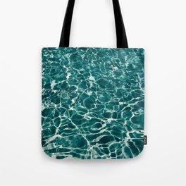 SEA - blue , white ocean , waves , clear , clarity Tote Bag
