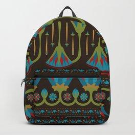 Egyptian Floral Border Pattern 1 Backpack