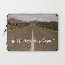 Let the Adventure Begin Laptop Sleeve