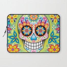 Sugar Skull Art (Jubilee) Laptop Sleeve