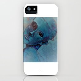 Ink on Altered Image iPhone Case
